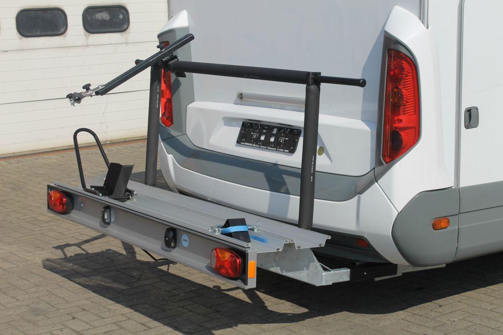 porte moto pour camping car franssen accessoires pour camping car. Black Bedroom Furniture Sets. Home Design Ideas