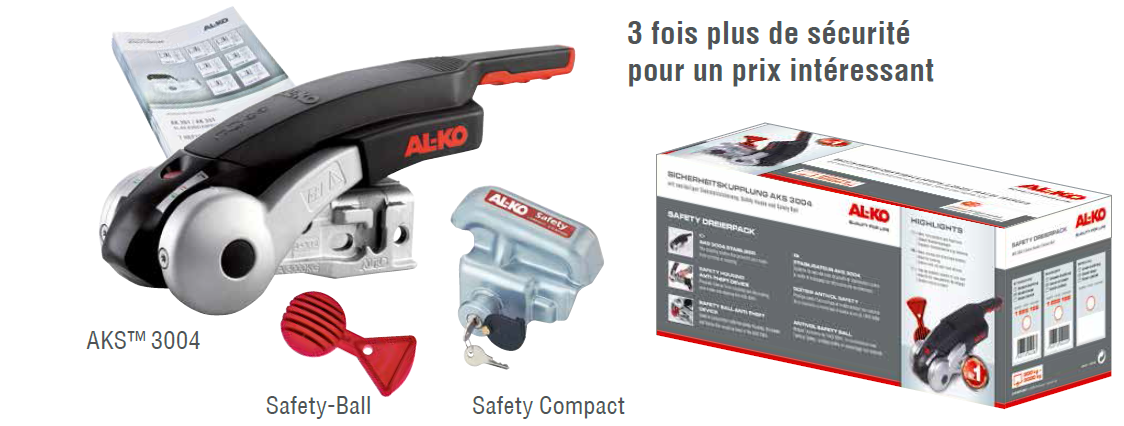 PACK SECURITE AKS 3004 - Stabilisateurs AL-KO