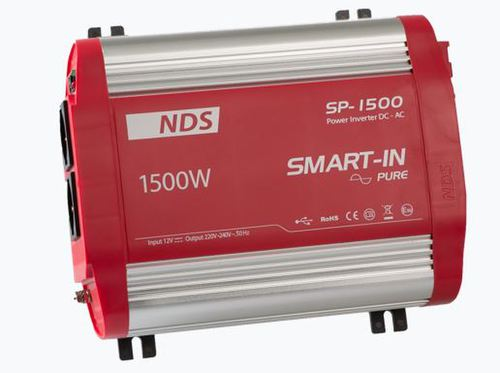 SMART IN PURE SINE WAVE 12V-1500W - Énergie NDS