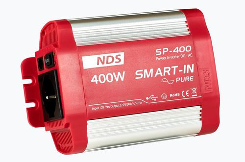SMART IN PURE SINE WAVE 12V-400W - Énergie NDS