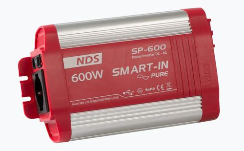 SMART IN PURE SINE WAVE 24V-600W - Énergie NDS